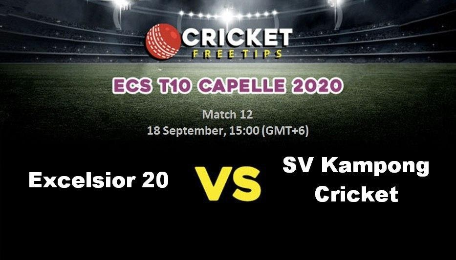 Excelsior 20 vs SV Kampong Cricket