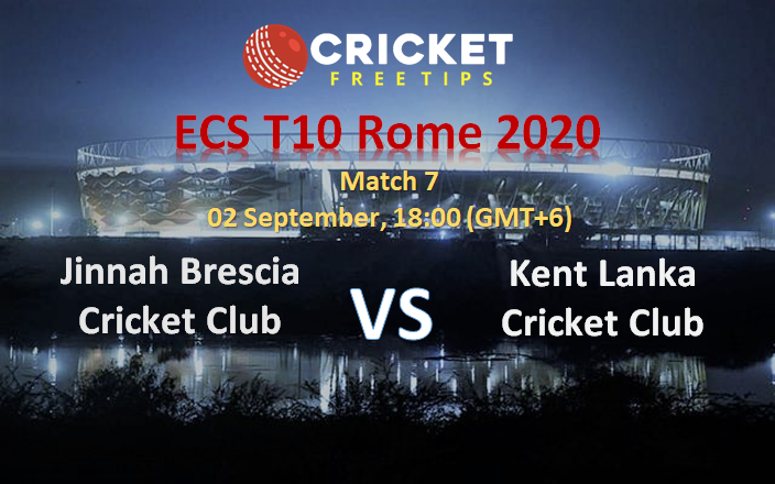 Jinnah Brescia Cricket Club vs Kent Lanka Cricket Club
